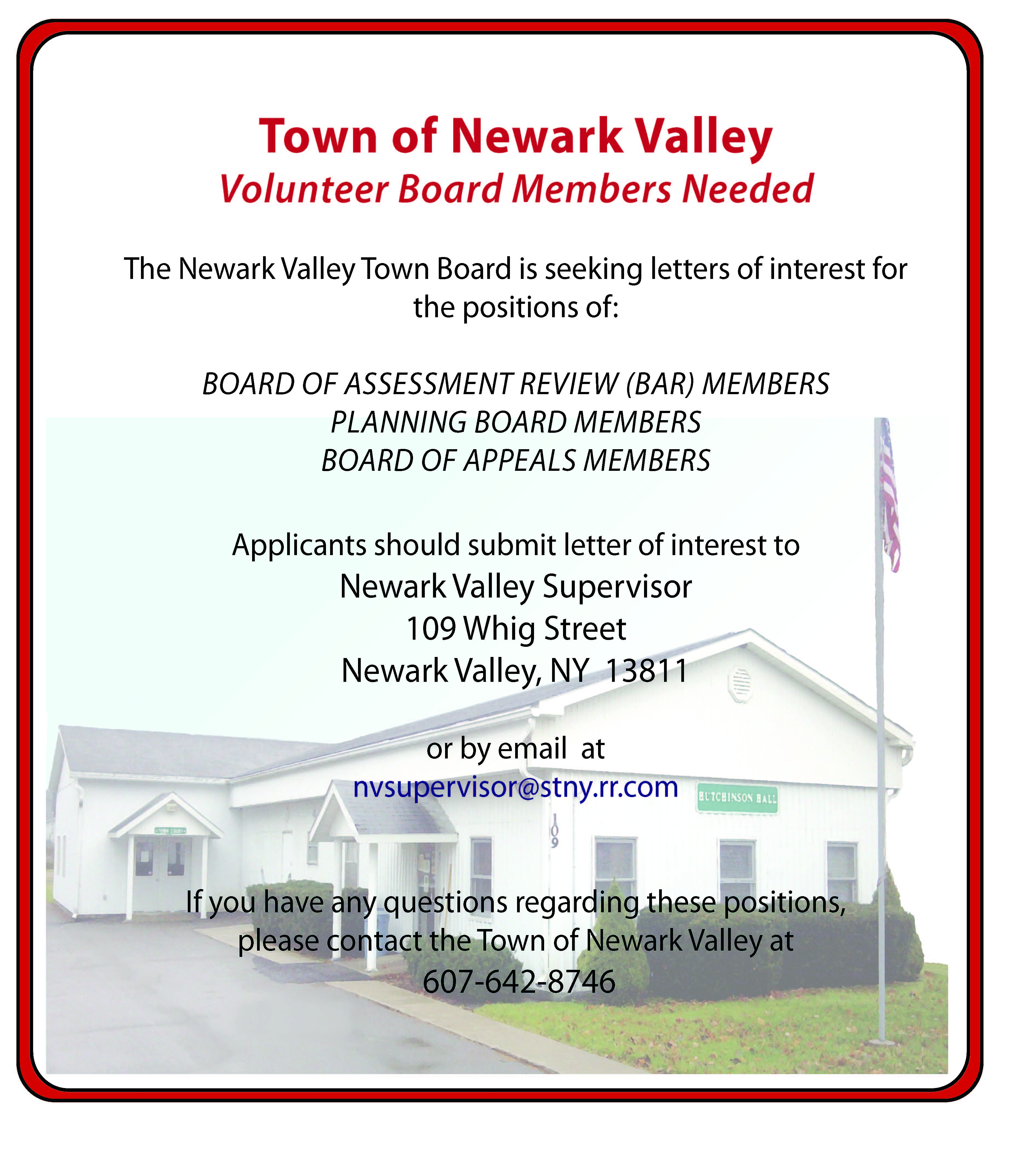 Town of Newark Valleynewark valley town